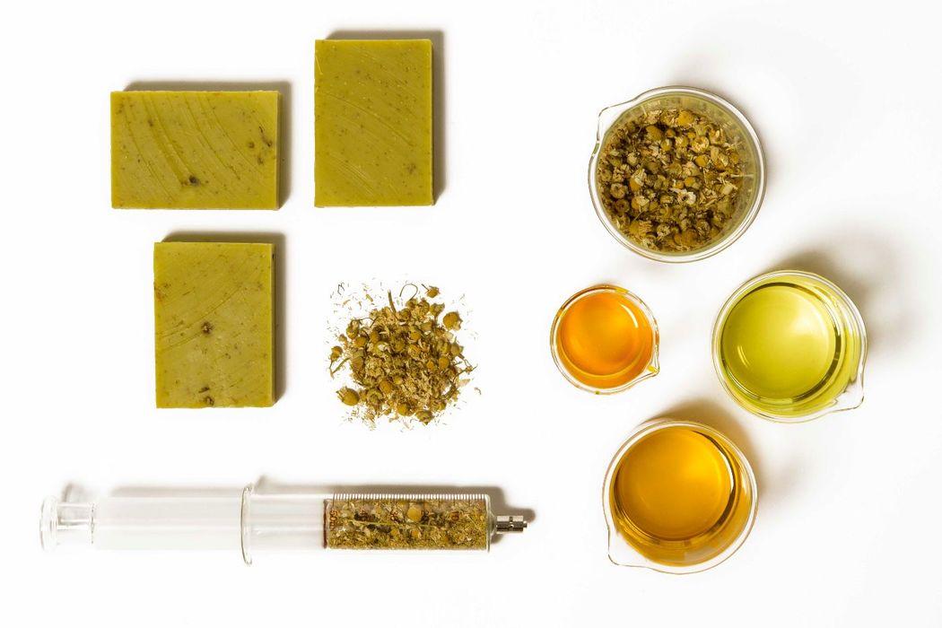 Calm Soap - camomila & aceite de almendras