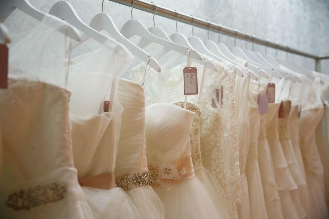 Jedes Brautkleid ist mit Liebe gemacht