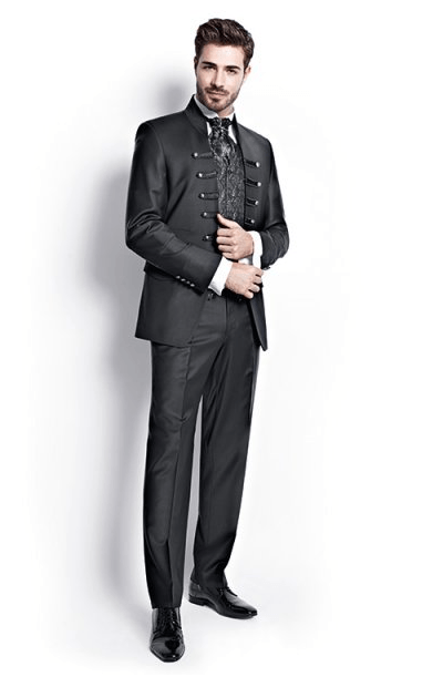 Beispiel: Der Anzug für den großen Tag, Foto: Schanda Männermodewelt.
