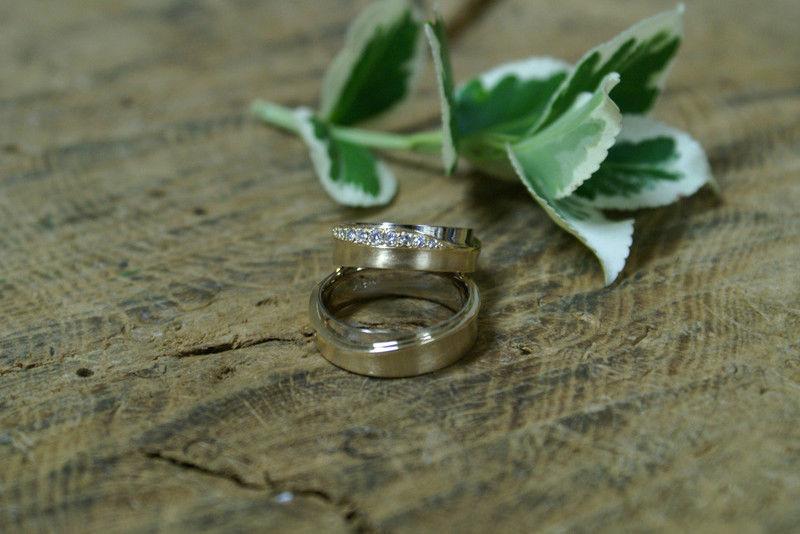 Beispiel: Ringe für Ihren großen Tag, Foto: Goldschmiede Piechula.