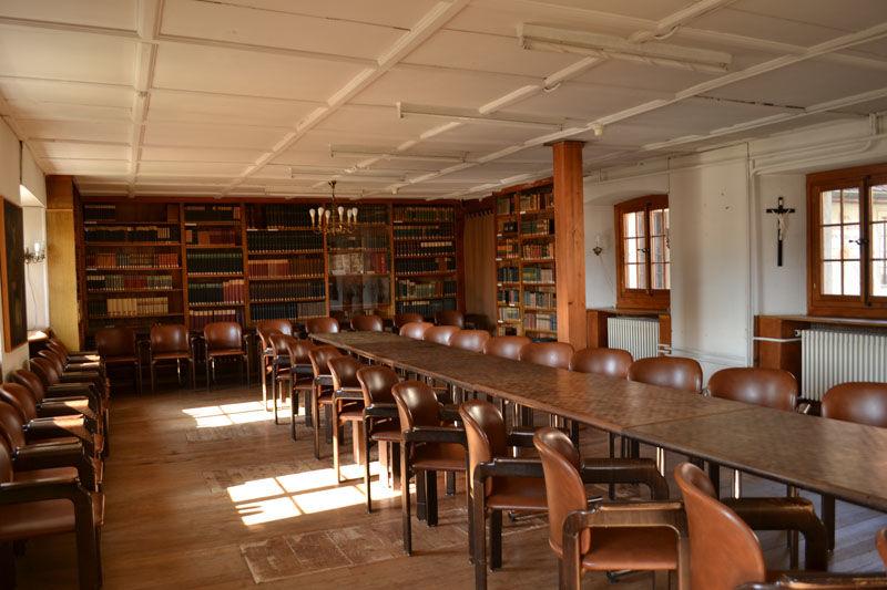 Beispiel: Bibliothek, Foto: Hotel Kloster Dornach.