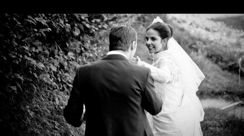 Beispiel: Wunderschöne Hochzeitsfotos, Foto: Fotomanufaktur Wessel.