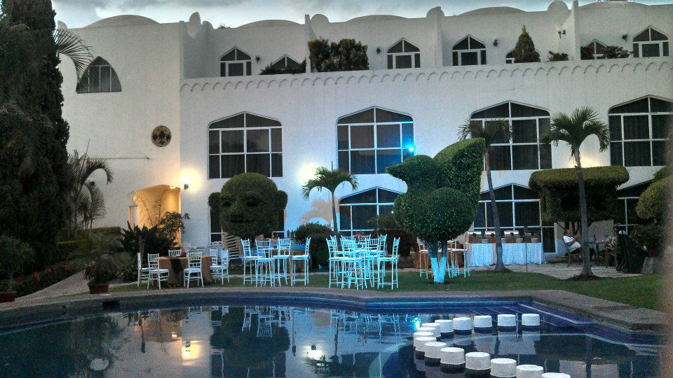 Hoteles Villabejar. Jardines. Cuernavaca, Morelos.