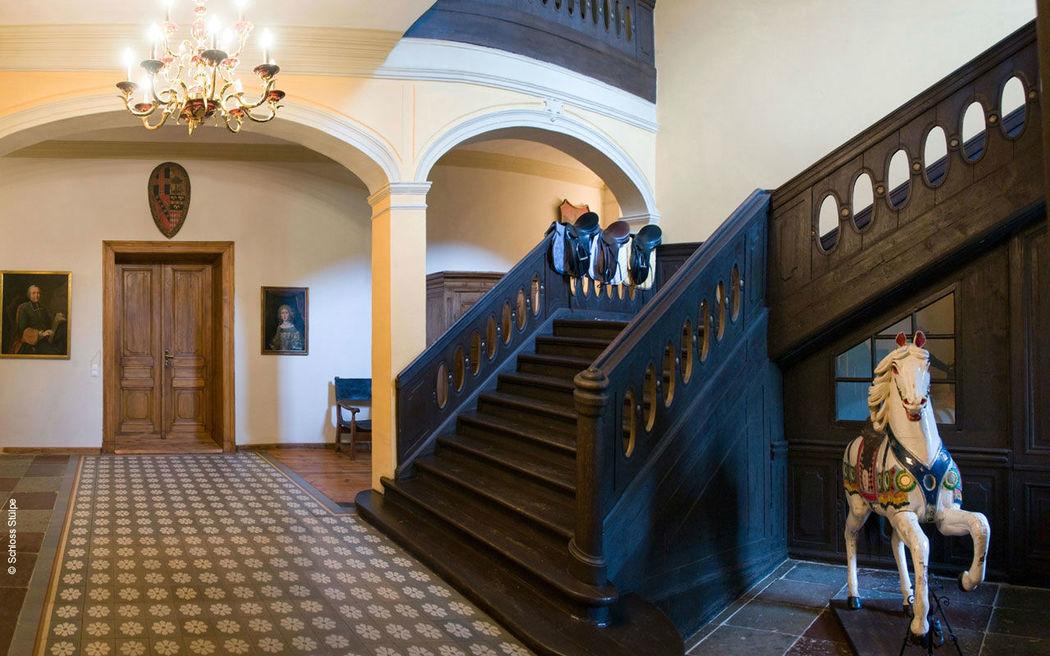 Beispiel: Foyer, Foto: Schloss Stülpe.