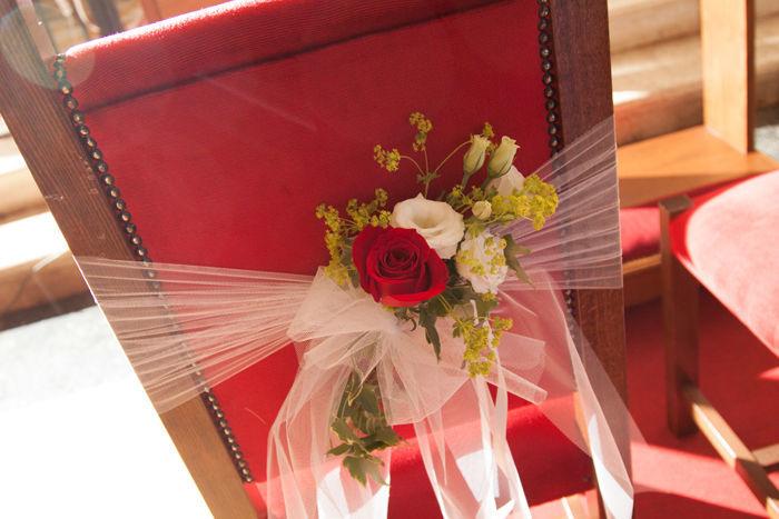 Addobbi chiesa - Sedute sposi