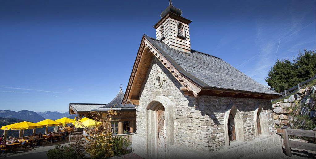 Beispiel: Kapelle, Foto: Brenneralm.
