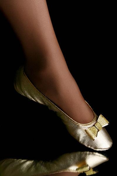 Série Premium Dourada com Laço Clássico de Lantejoulas