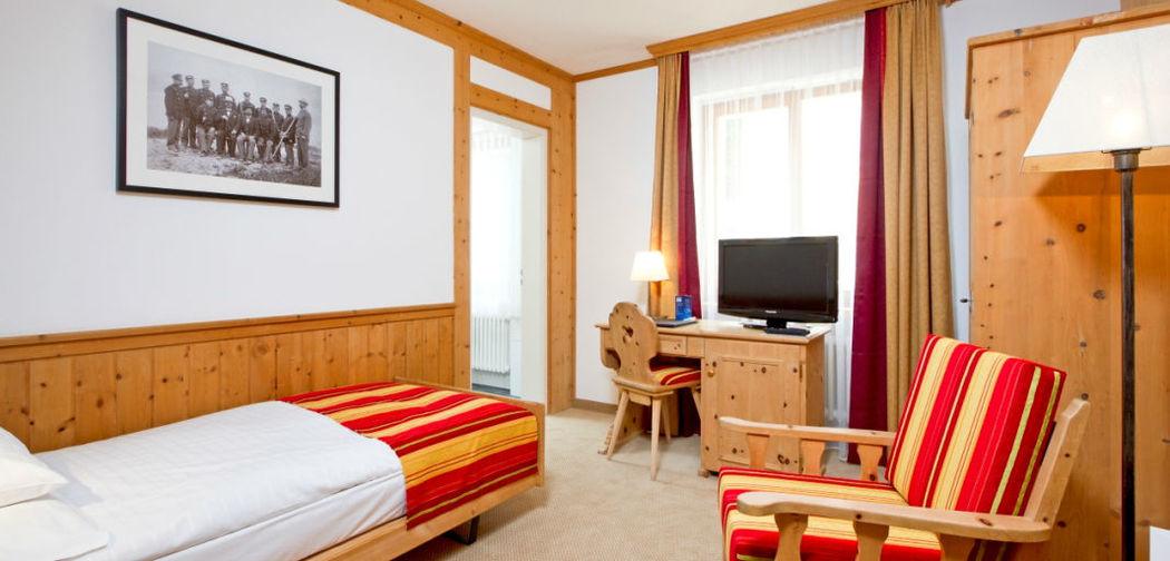 Beispiel: Zimmer, Foto: Hotel Edelweiss.