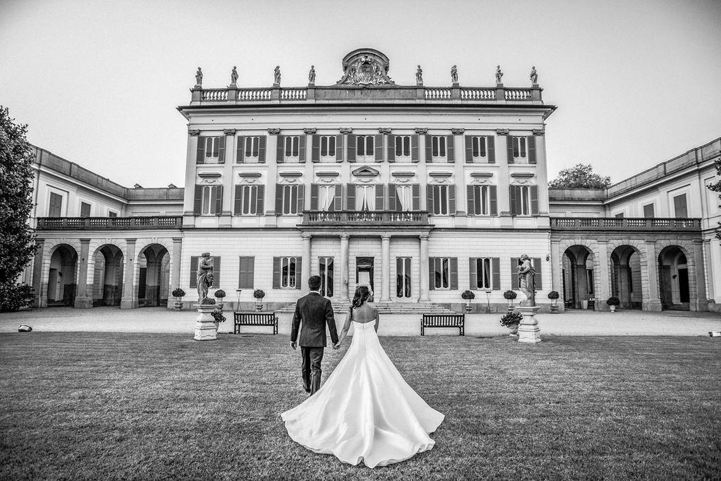 Moreno Belloni matrimonio in villa borromeo