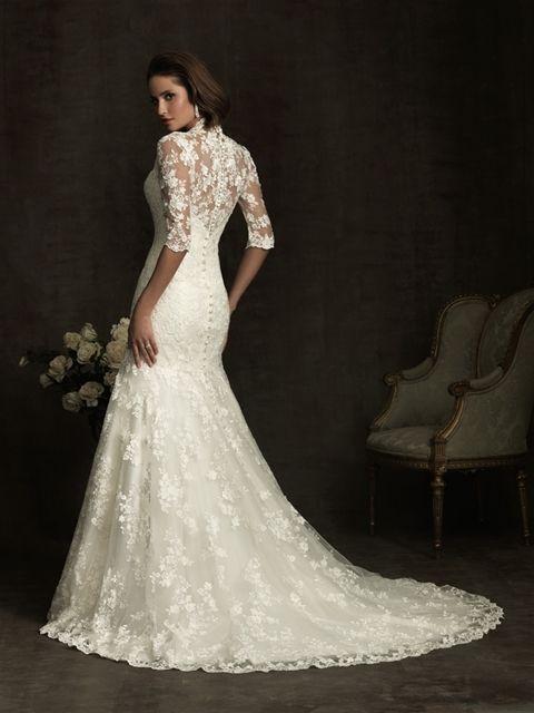 Marca: Allure Bridals. Modelo: 8900 - espalda.