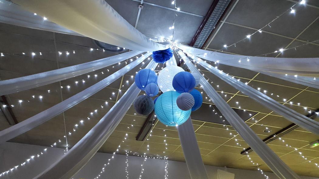 Décoration plafond mariage