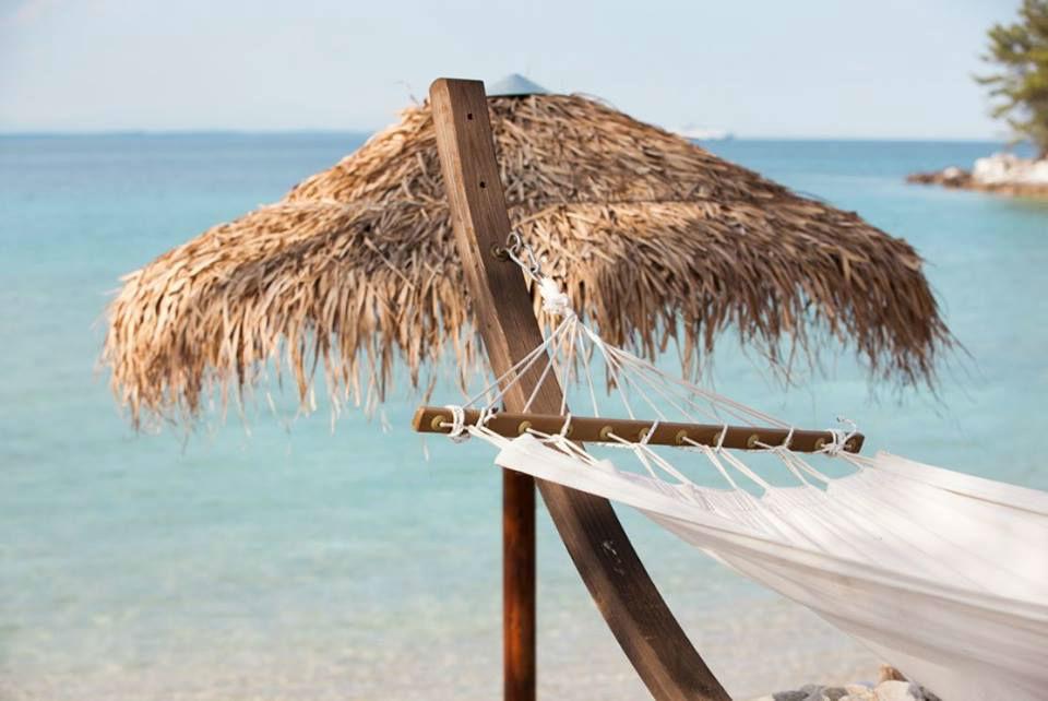 Beispiel: Hängematte am Strand, Foto: Neckermann.