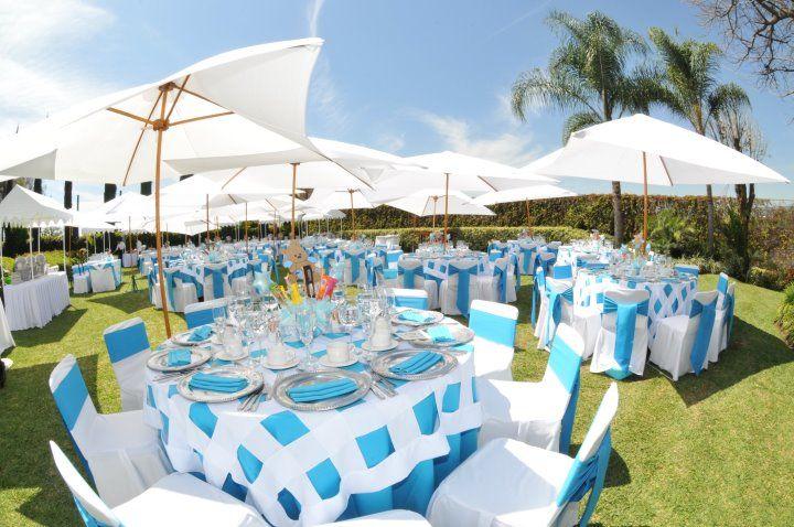 Decoración y ambientación de bodas al aire libre - Foto Casa Colima