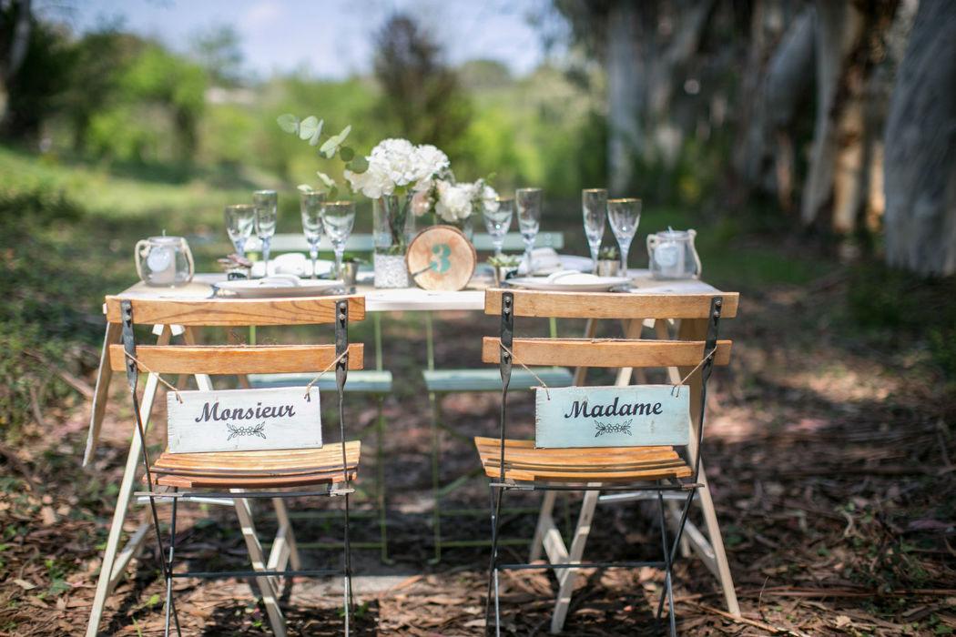 Ambiance rustique, mariage vintage