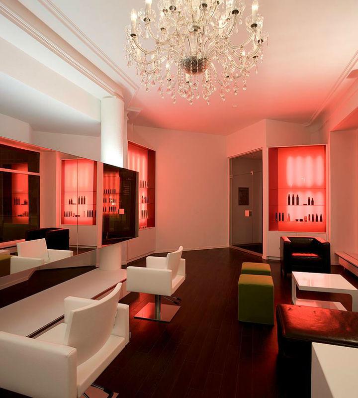 Beispiel: Der Salon, Foto: K-Styling.