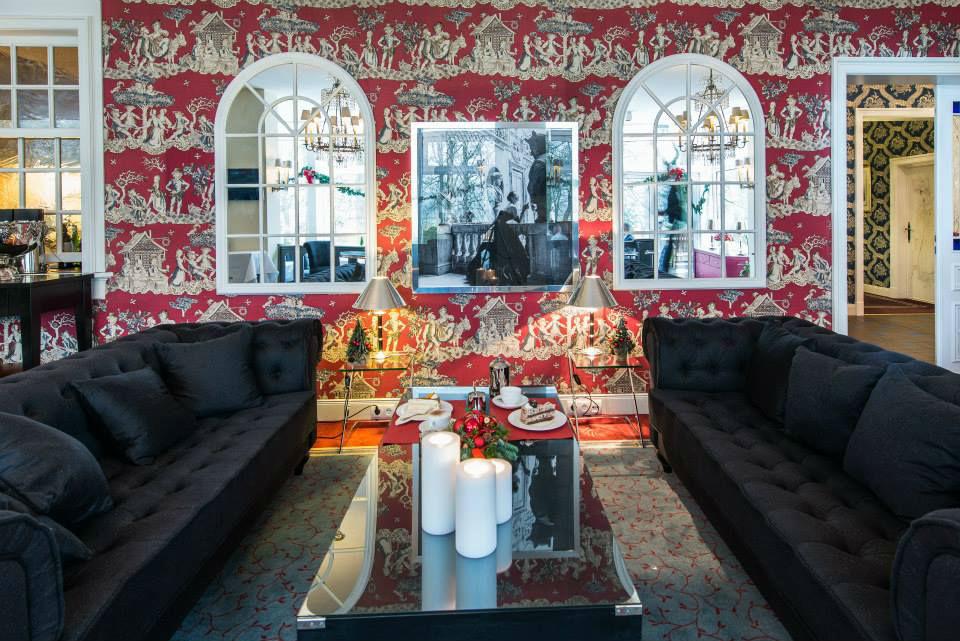 Beispiel: Lounge, Foto: Landhaus Höpkens Ruh.