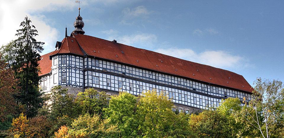 Beispiel: Aussenansicht Welfenschloss,  Foto: Englischer Hof.