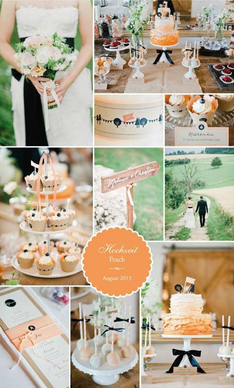 Beispiel: Hochzeitstorte Thematik, Foto: Sweet Candy Table.