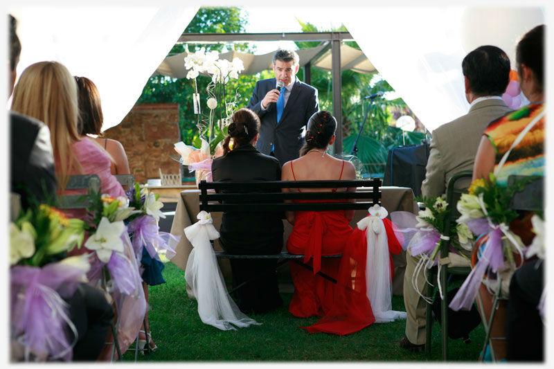 Juez civil y maestro de ceremonias para bodas civiles