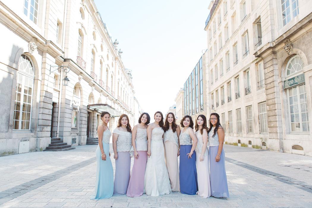 Organisation mariage Nancy pour Marga & Thibault - Bridesmaid