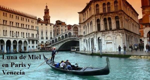 Luna de Miel en Paris y Venecia