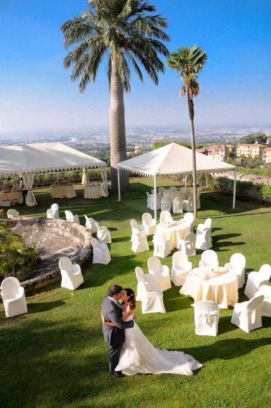 Park Hotel Villa Grazioli: Vista da giardino pensile