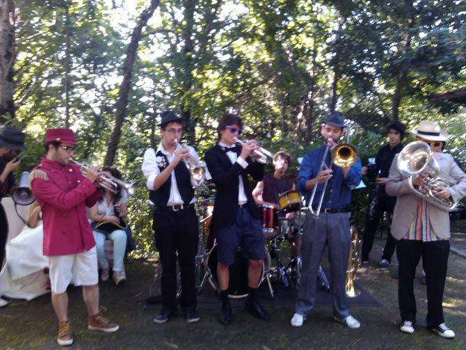 Cosa Nostra Band. Um sucesso garantido e divertido.