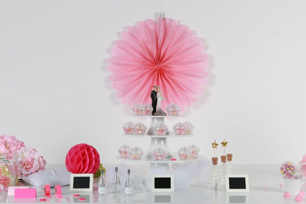 Toute la décoration et les accessoires pour faire de votre mariage le plus beau jour de votre vie !