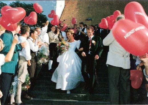Beispiel: Romantische Herzen, Foto: Krickl Ballons.