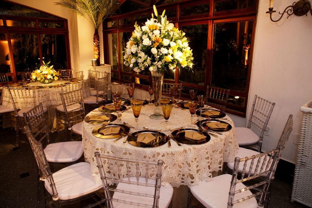 Casamento Villa Riso - Decoração Les Amies.