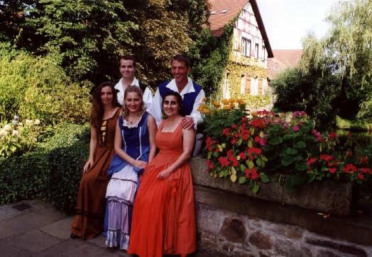 Beispiel: Team vom Rittergut, Foto: Rittergut Haus Laer.
