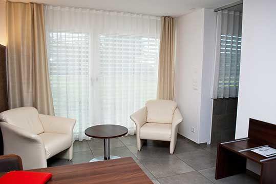 Beispiel: Hotelzimmer, Foto: Restaurant Schäfli.