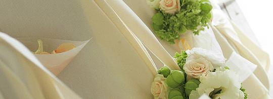 Beispiel: Dekoration für Ihre Hochzeitsfeier, Foto: Adventure Catering.