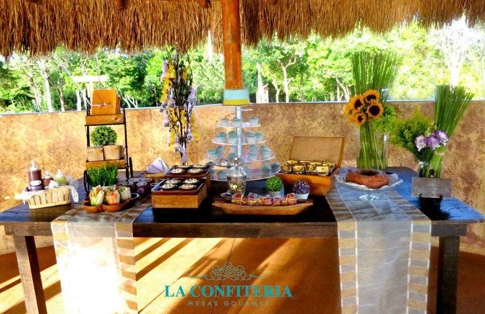 Mesas de dulces - Foto La Confitería