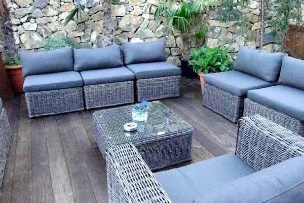 Beispiel: Lounge, Foto: Weingut am Reisenberg.