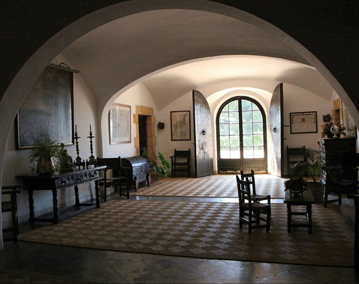 Salones de la casa Masía Egara
