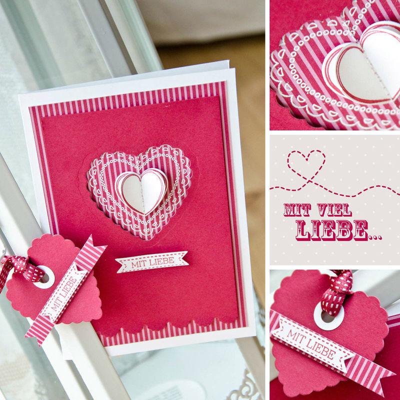 Beispiel: Hochzeitseinladung pink, Foto: Wertschatz.