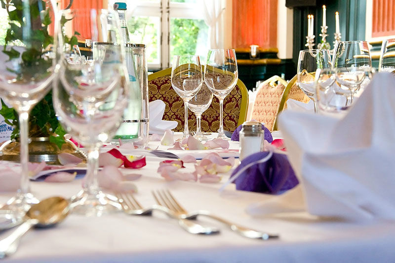 Beispiel: Tischdekoration, Foto: Stadtpalais Celle.