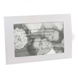 Beispiel: Persönliche Danksagungskarten, Foto: Sweet Wedding Hochzeitskarten.
