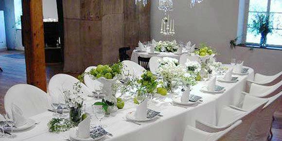 Beispiel: Hochzeitstafel, Foto: Künkele Mühle.