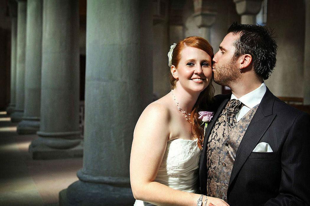 Beispiel: Romantische Hochzeitsfotos, Foto: Hochzeit Fotograf Thomas Hinder.