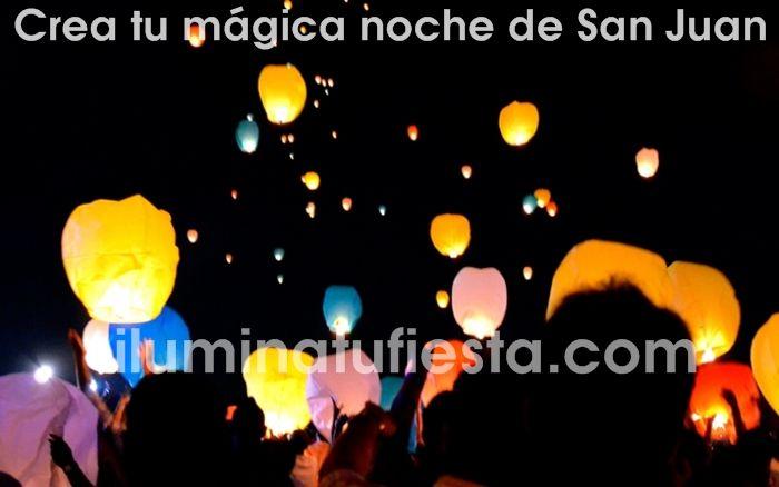Ilumina tu fiesta