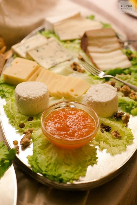Buffets de queijos