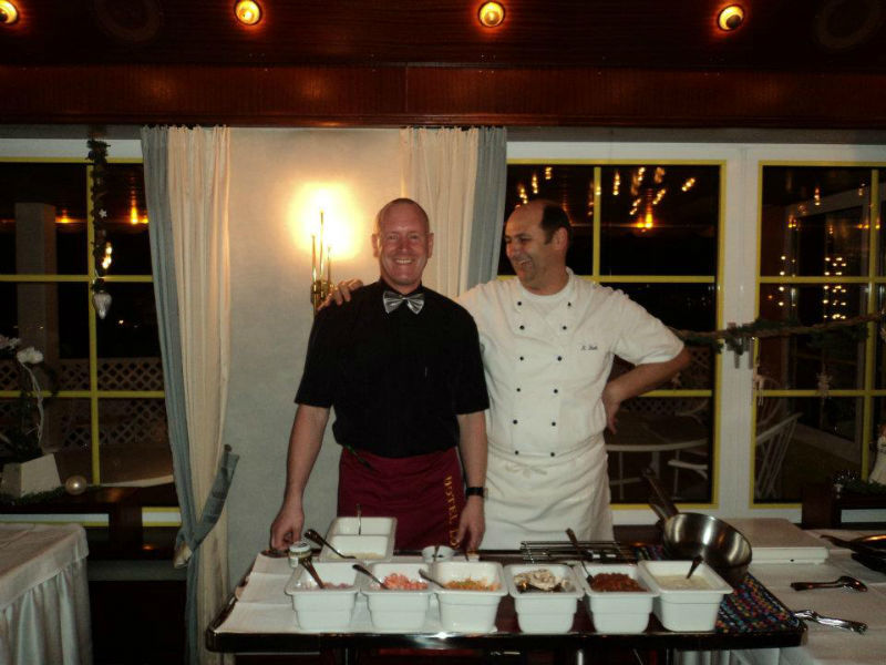Beispiel: Buffet Service, Foto: AKZENT Hotel Löwen.