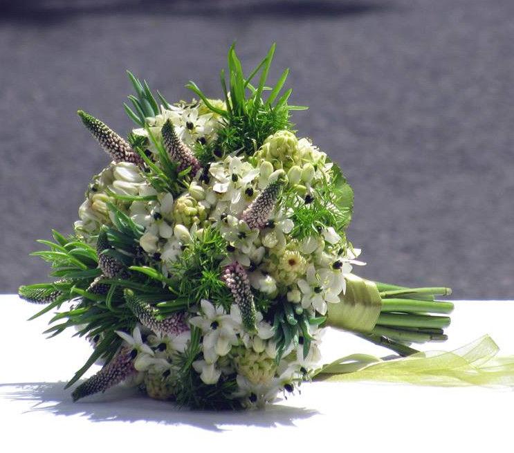 Bouquet de Noiva Suculentas e Verdes