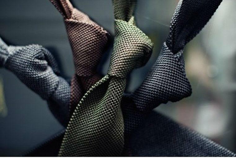 Beispiel: Krawatten, Foto: Lewin.