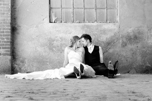 Beispiel: Hochzeitsfotografie am Westensee, Foto: Rea Papke Photography.