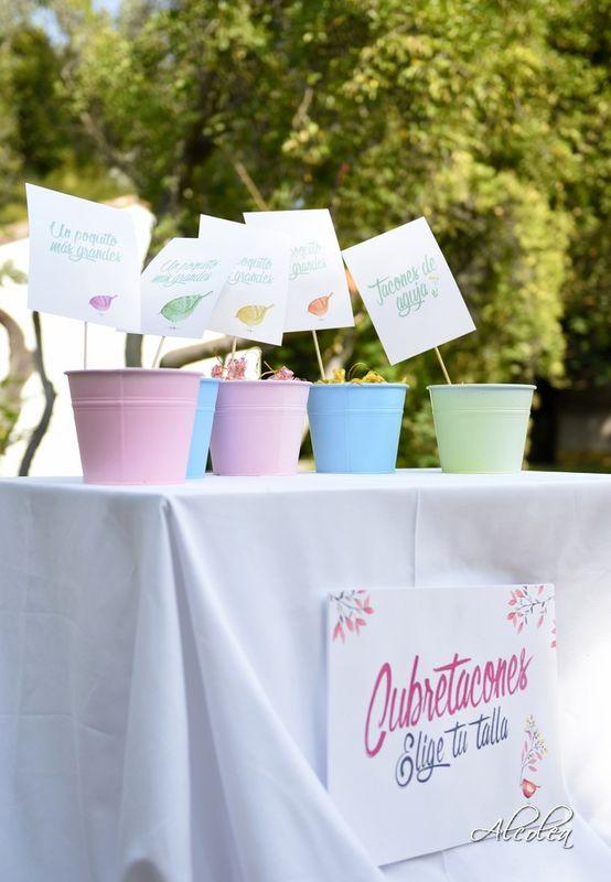 Ideas divertidas cubretacones para las invitadas