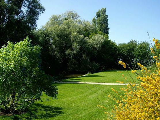 La Grange de Fontenay - le parc
