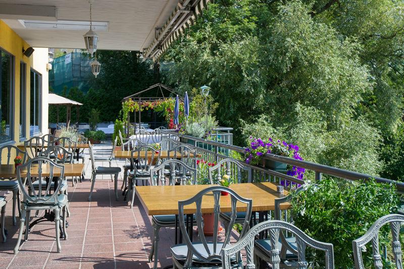 Beispiel: Terrasse, Foto: Restaurant Oberwirt.